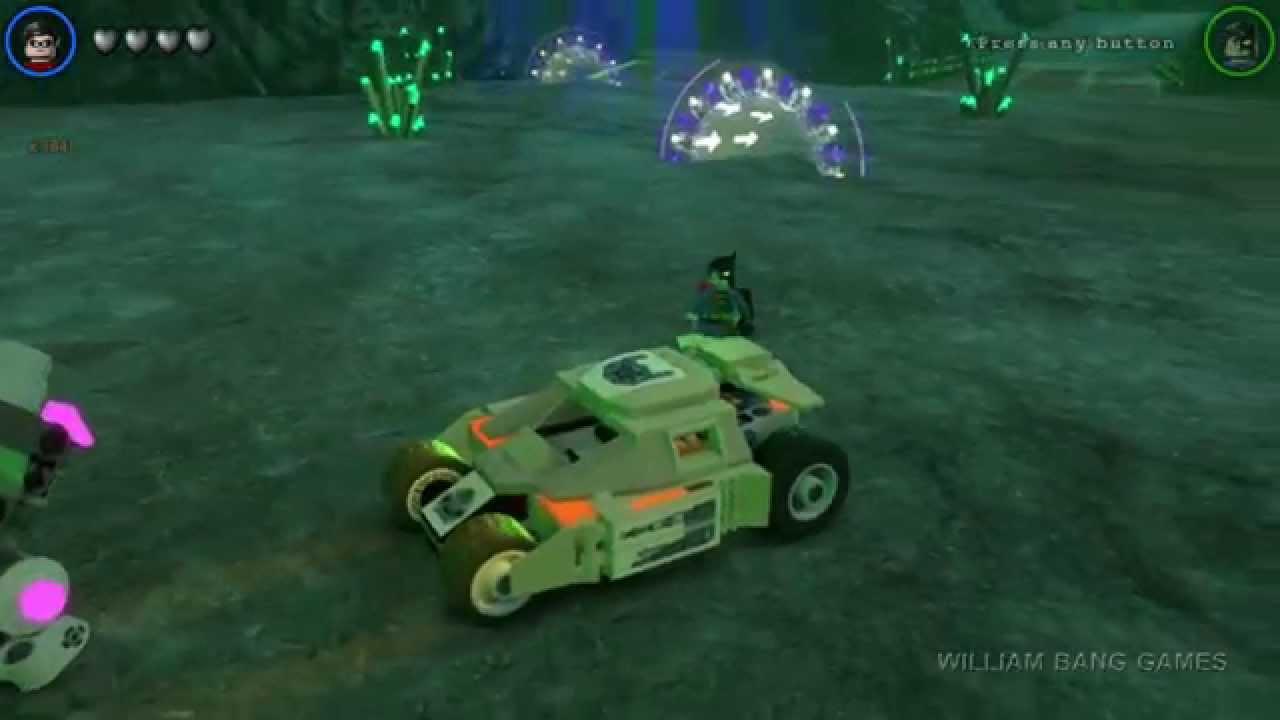 LEGO Batman 3: Beyond Gotham - Cars - Bane Tumbler ...