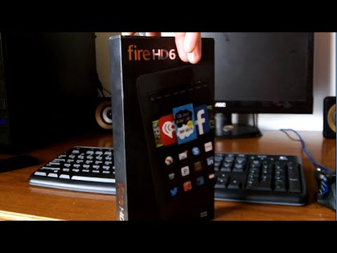 Amazon Fire HD 6 Tablet Unboxing (2015)