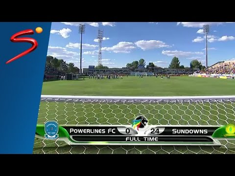 Powerlines F.C. 0-10 Mamelodi Sundowns 1st Half