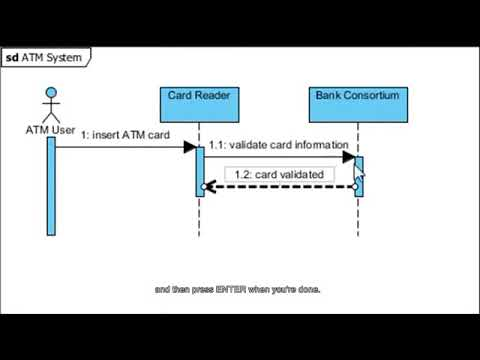 Learn to create sequence diagram youtube learn to create sequence diagram ccuart Images
