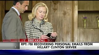 Report: FBI Recovers Deleted Hillary Clinton Emails