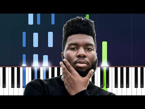 Khalid - Better Piano Tutorial