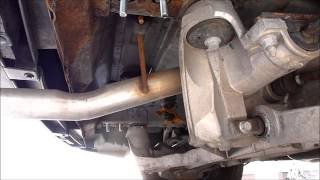 Buick Rendezvous Trailer Hitch Installation