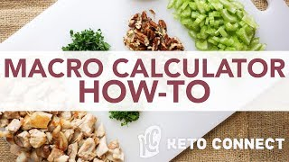 Keto Macro Calculator Tutorial | How to Calculate Your Keto Macros | How Much To Eat On Keto