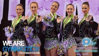 HIGHLIGHTS 2014 Rhythmic Worlds Izmir Groups All around We are Gymnastics