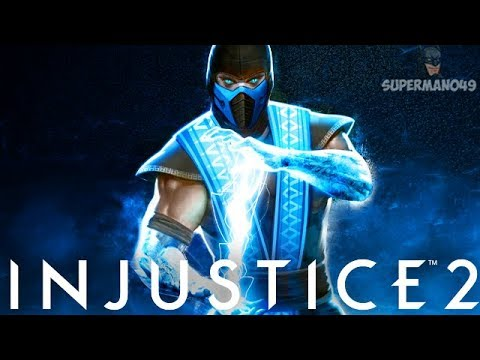 "AWESOME LEGENDARY SUB-ZERO ABILITY! - Injustice 2 ""Sub-Zero"" Legendary Gear Gameplay"