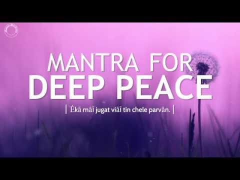 Mantra for Peace - Aades Tisay Aades(iii)   DAY31 of 40 DAY SADHANA