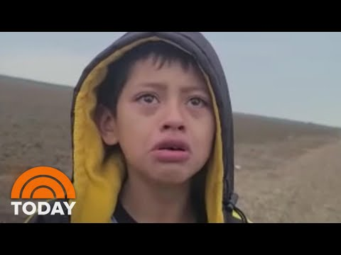 Heartbreaking-Video-Of-Migrant-Boy-Abandoned-At-Border-Spotlights-Crisis-TODAY
