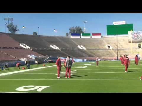 Cougar Football: Cougs Check Out Rose Bowl