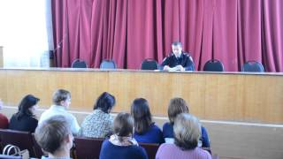 Обучение членов народных дружин Рассказовского района 1