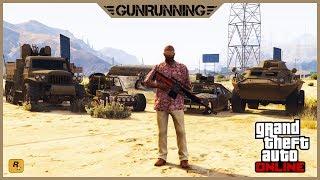 GTA 5 Online: ОБНОВЛЕНИЕ «Торговля Оружием» | ВОЕННЫЕ БАЗЫ и НОВЫЙ ТРАНСПОРТ  | Gunrunning DLC 2017