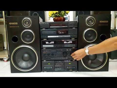 (Đã bán)Dàn đại KENWOOD 5 thớt nguyên zin ,  BASS 22cm âm thanh rất bén . LH 0915934119 .