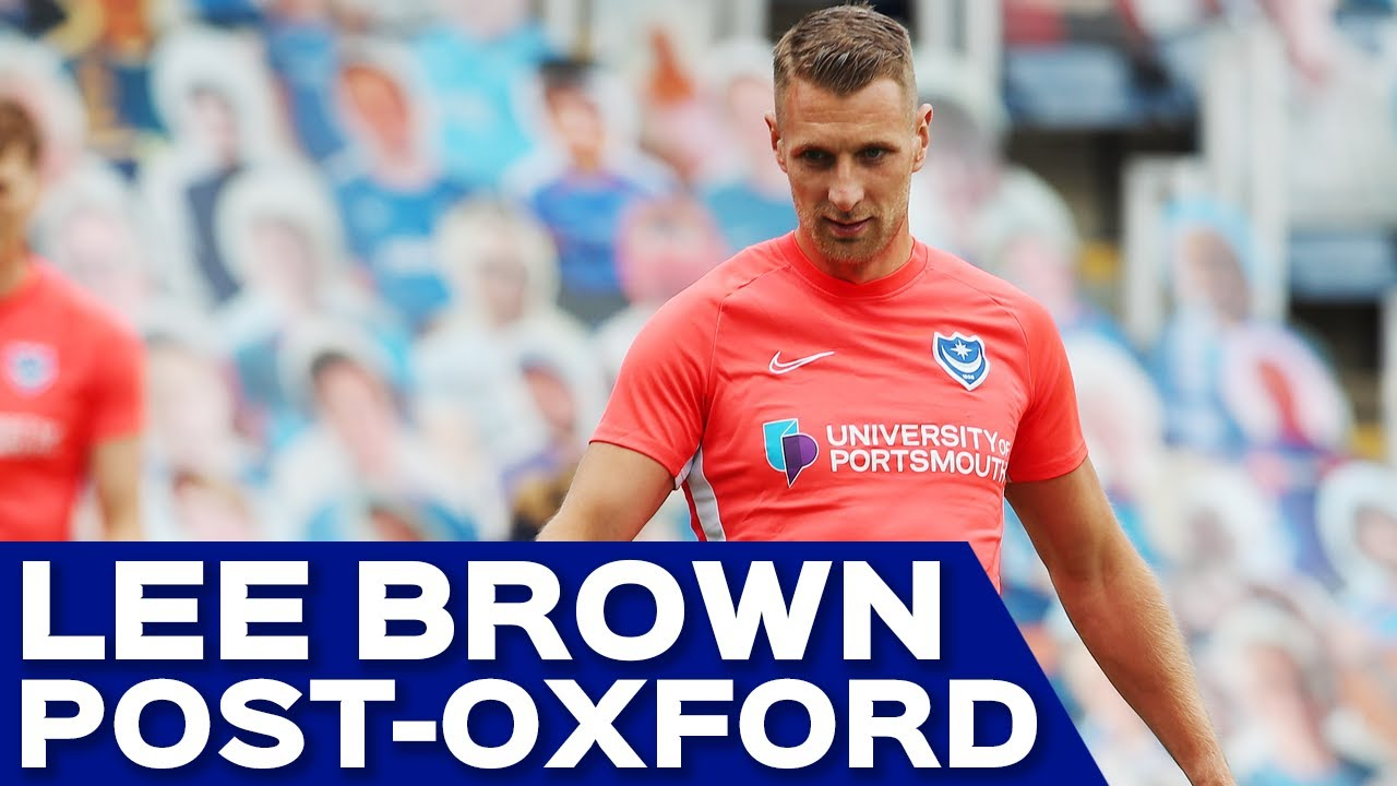 Lee Brown post-match | Pompey 1-1 Oxford United