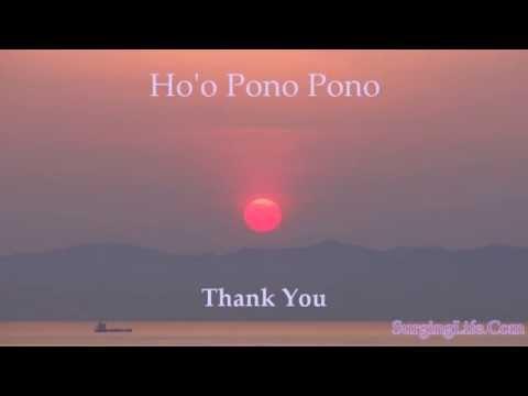 Ho'oponopono Technique Guided 5 Minute Meditation Video