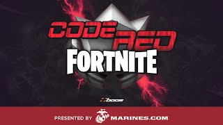 Esports Arena HUB STREAM | Code Red Fortnite: Powered by The Marines