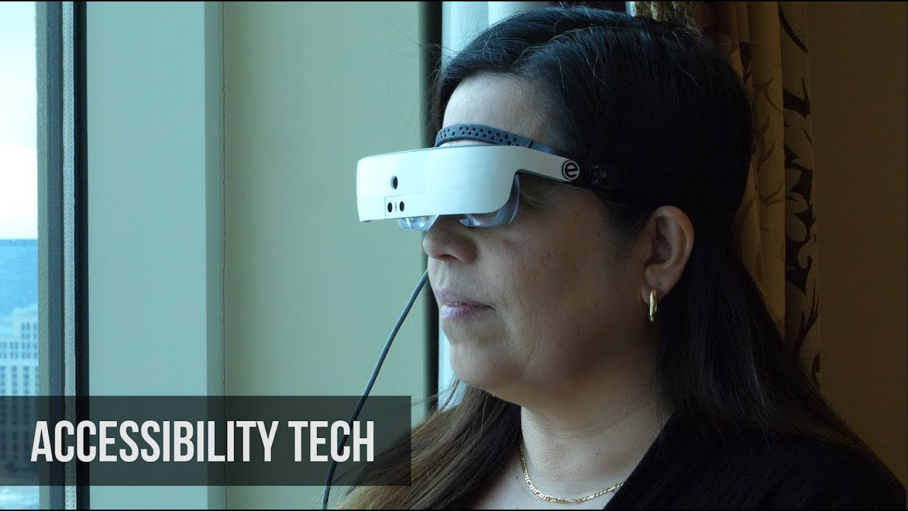 e53dd01f92cd Glasses give sight to the legally blind, opening eyes to the broader  potential of making tech accessible
