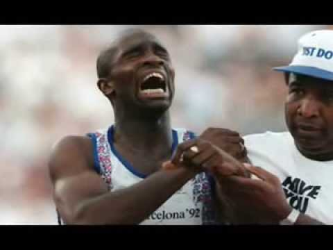 DEREK REDMOND   Never Give Up