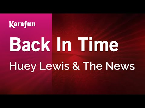 Karaoke Back In Time - Huey Lewis & The News *