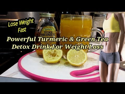 powerful-turmeric-&-green-tea-detox-drink-for-weight-loss