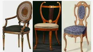 Designer wooden chair collection