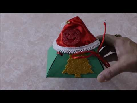 DIY | #Craft - #Christmas and #New #Year special #handmade #DIY #Gift #box | Episode - 07