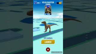 Jurassic world alive (Jurassic GO) EP 2 - Getting our first velociraptor!!