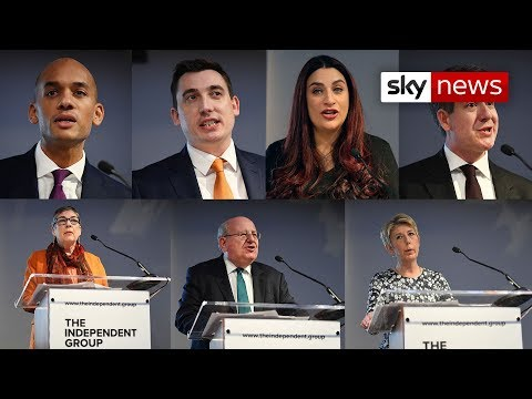 Seven Labour MPs resign to form independent group
