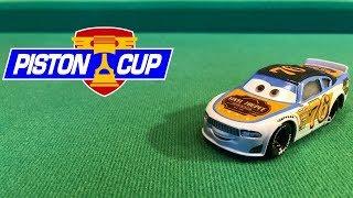 Mattel Disney Cars 3 2018 Rev Roadages #76 Vinyl Toupee Stock Car Die-cast Review