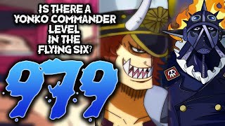 Yonko Commander vs Flying Six / One Piece Chapter 979 Review