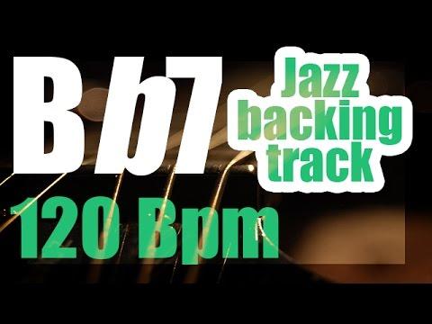 Bb7 jazz swing backing track | play-along 120 Bpm | Bb7