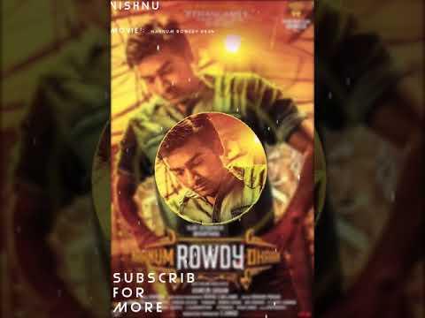 Naanum Rowdy Dhaan BGM ||