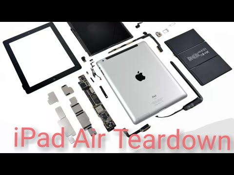 Ipad Air 2 Disassembly to replace the USB port