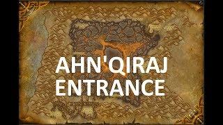 Ahn'Qiraj BFA Entrance Location