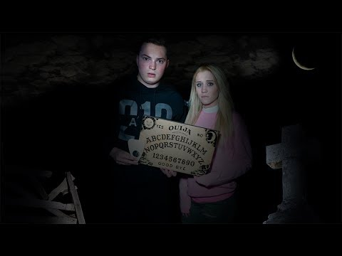 OUIJA BOARD IN CEMETERY.. AGAIN (BAD IDEA)