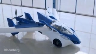 Flying Car Drives and Flies on Gasoline