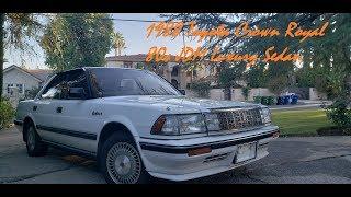 Ms137 1988 Toyota Crown Royal- The JDM Luxury Sedan of the 80s