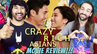 CRAZY RICH ASIANS - MOVIE REVIEW!!!