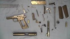 1911 Pistol No Tools Detail Strip