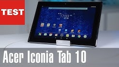 Acer Iconia Tab 10: Mittelklasse-Tablet im Test