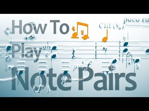 Musical Phrasing Lesson: Note Pairs