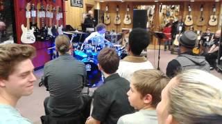 Dennis Sanderson Guitar Center Drum-off Denver, CO Oct 27, 2015