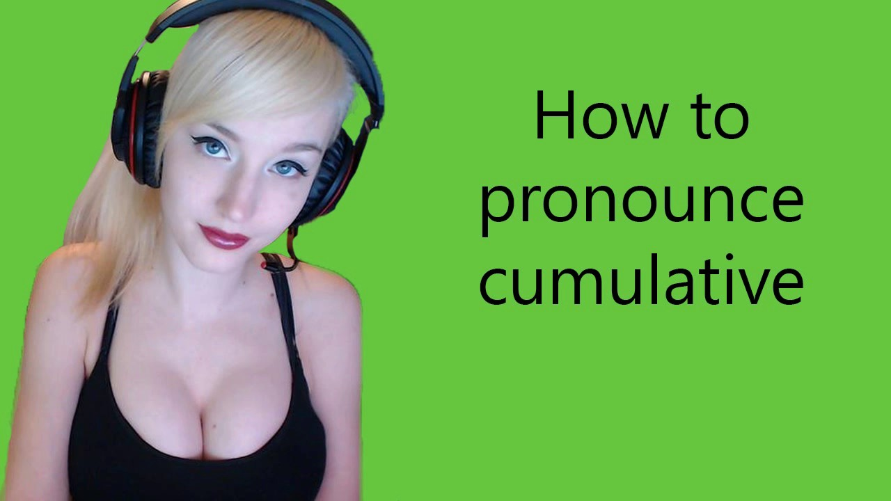 How to pronounce cumulative - YouTube