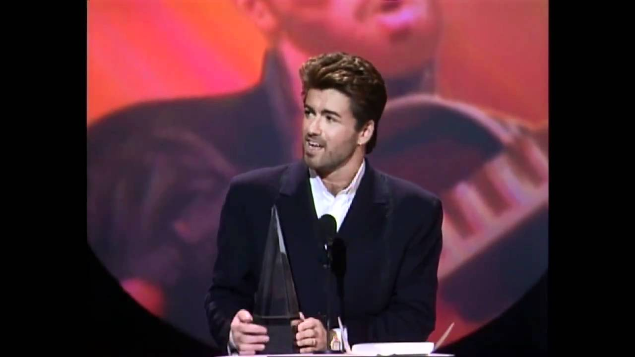 Receiving one of his awards