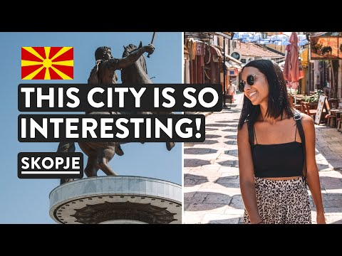 (North) Macedonia First Impressions | Skopje Free Walking Tour | Travel Vlog