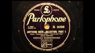 Anything Goes - piano selection by Patricia Rossborough