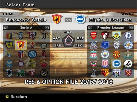 Club List Option File Non Patch - PES 6 Shine Pre-Season 2017 - 2018 ... 3efb7fc27