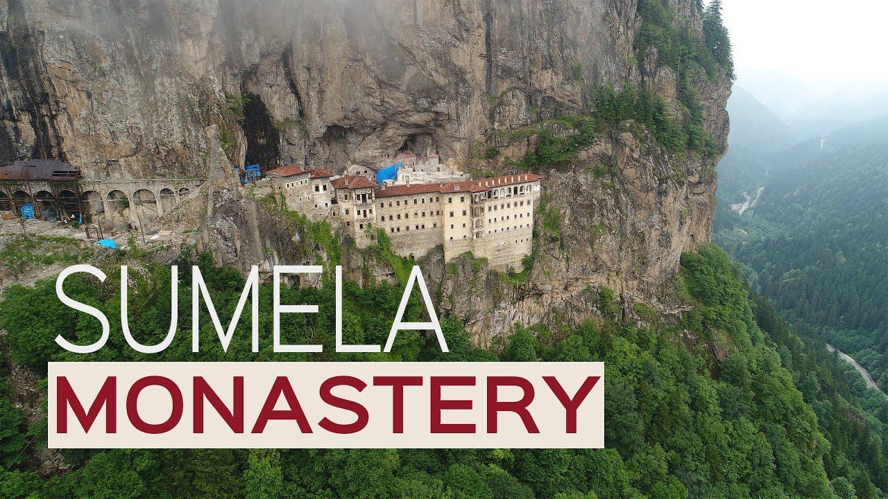 Sümela Manastırı / Sumela Monastery / Drone / Maçka / Trabzon / Turkey