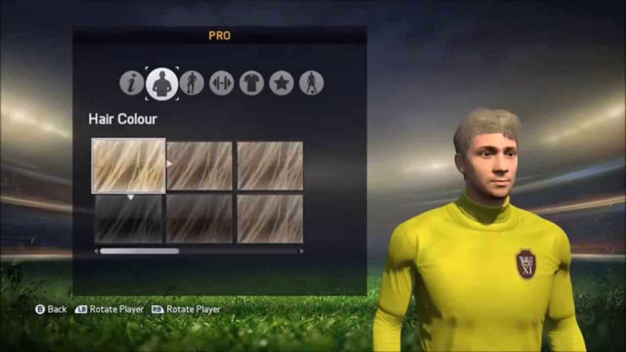 FIFA 15  Creating a Virtual Pro  All Boots Hairstyles Traits  MORE  YouTube