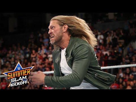 Edge returns and spears Elias: SummerSlam Kickoff 2019 (WWE Network Exclusive)