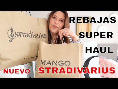 SUPER HAUL REBAJAS STRADIVARIUS MANGO OYSHO | LO MEJOR Y NUEVO TRY ON 😍
